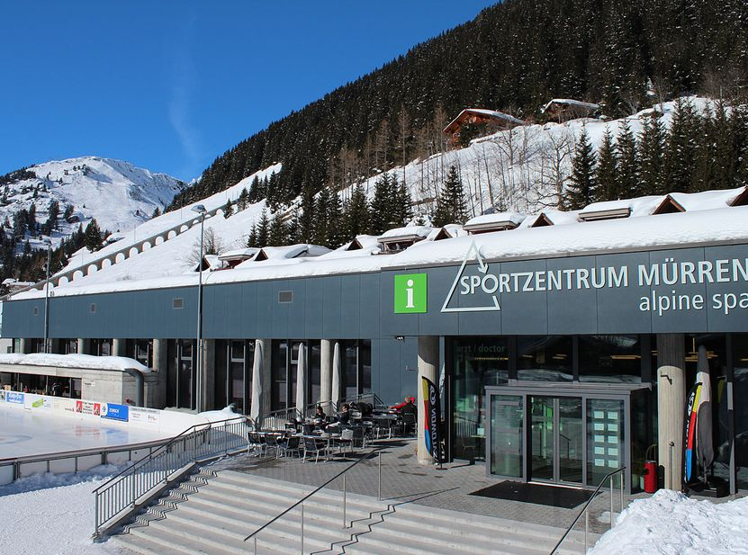 Alpines Sportzentrum Mürren Winter