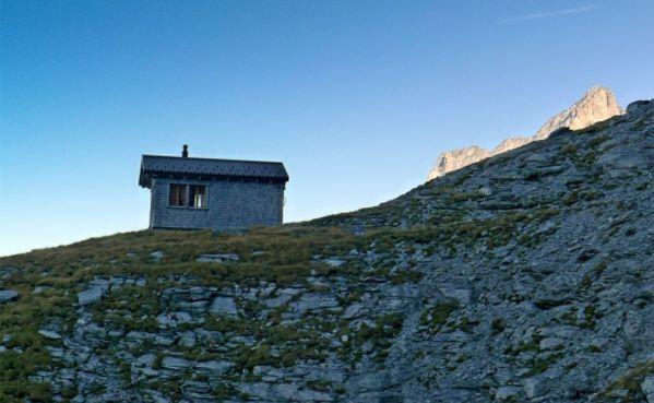 Klettersteig Switzerland : Klettersteig daubenhorn längster der schweiz bild